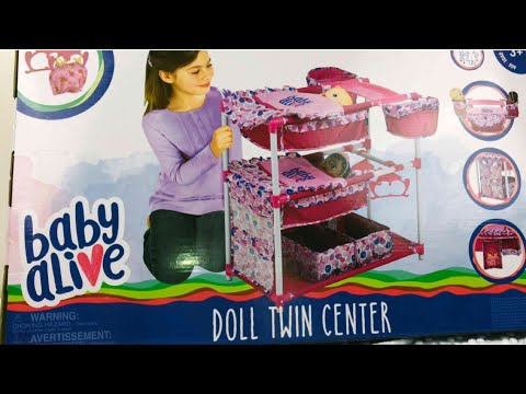Baby Alive Doll Twin Center