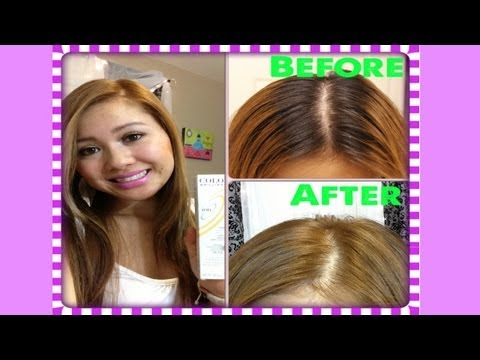 How to Dye Black Hair to Light Brown - How I Dye My Roots!