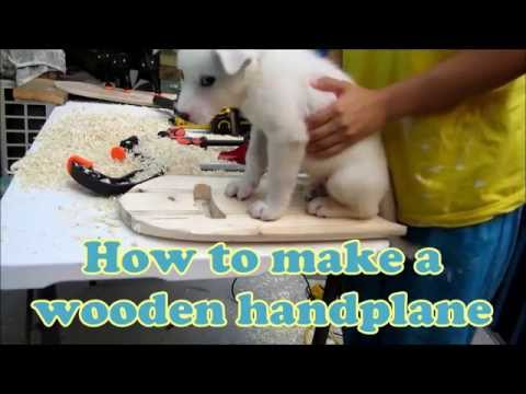 How to make a wooden Handplane for bodysurfing
