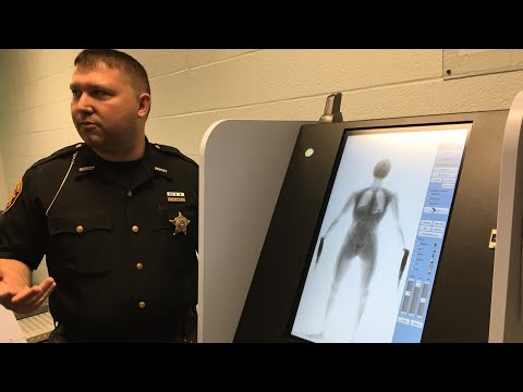 Franklin County jail using full-body scanner to look for smuggled contraband