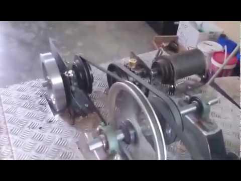 Flywheel Energy Storage of a Wind Turbine (simulation)
