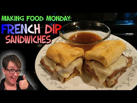 Making Food Monday: Pressure Cooker French Dip Sandwiches