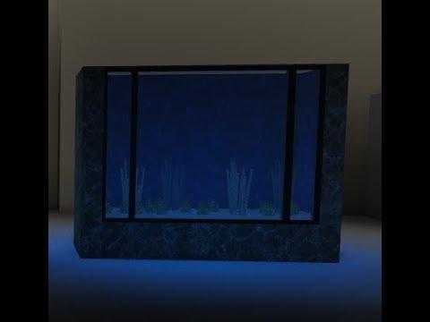 How to make an aquarium ! // Roblox Bloxburg Tutorial