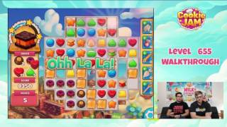 How To Beat Level 655 In Cookie Jam