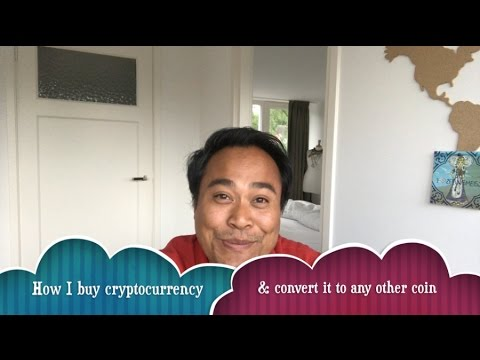 How I buy cryptocurrency with money and convert it to the coin I want (Europe only)