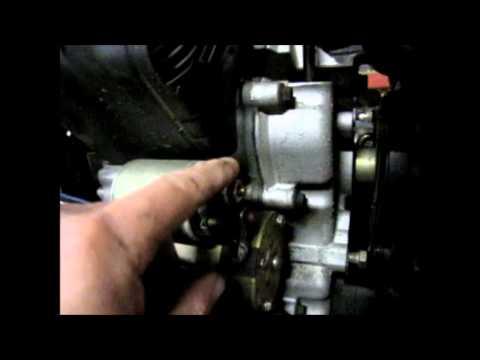 Simplicity Legacy - Leak Repair - Disconnect The Hydraulic Pump