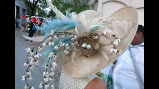 Hats at The Kentucky Derby