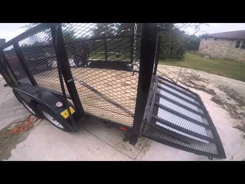 Lawn Trailer Gate Assist