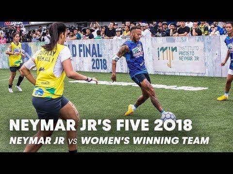 Xxx Mp4 Neymar Jr 39 S Five 2018 Neymar Jr Vs Women 39 S Winning Team Five A Side Football Tournament 3gp Sex