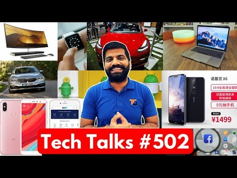 Tech Talks #502 - OnePlus 6, Faulty Keyboard, Tesla 3, Nokia X6, Gmail Offline, Android Malware