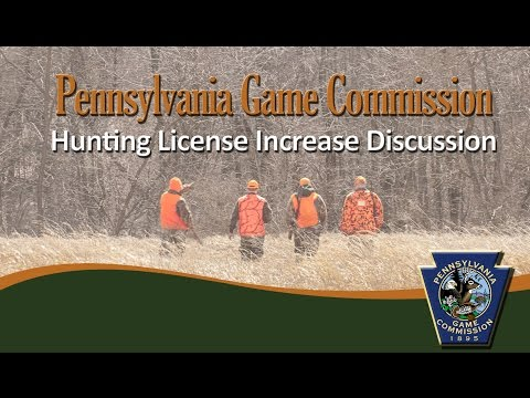 Hunting License Increase Discussion