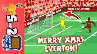 🎄5-2! Merry Christmas Everton!🎄 (Liverpool vs Everton Parody Goals Highlights 2019)