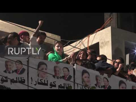 Xxx Mp4 Pakistan Thousands Rally For Jailed Ex PM Nawaz Sharif In Faisalabad 3gp Sex