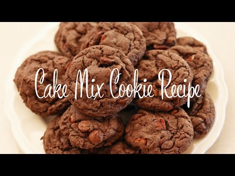 Cake Mix Cookie Recipe