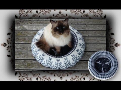 DIY 😻 Fleece Bettchen für Katzen & Hunde | Handmade Cat Bed