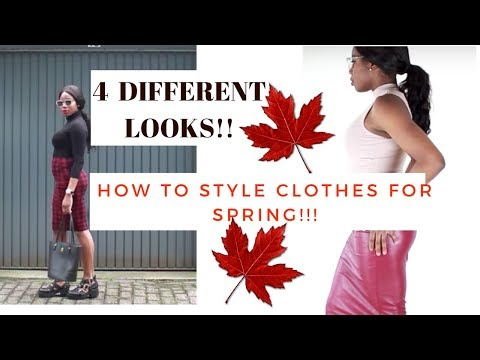 SPRING 2017: STYLING SPRING OUTFITS!!