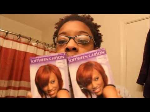 Dying My Natural Hair Vivaious Red with Dark & Lovely