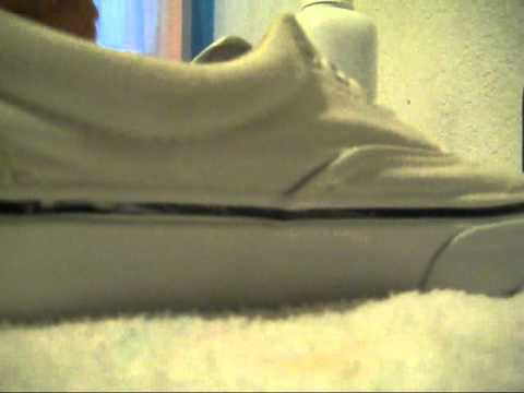 How to clean white vans the REAL way