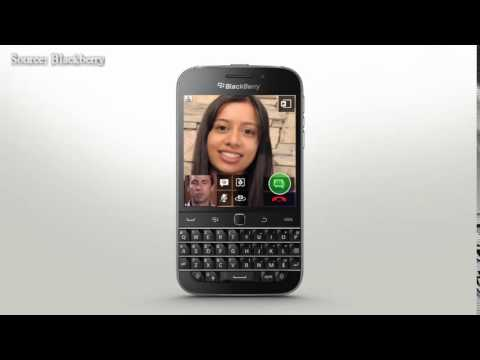 BlackBerry Classic Official BBM Video with BlackBerry Natural Sound and Screen Share Official How To