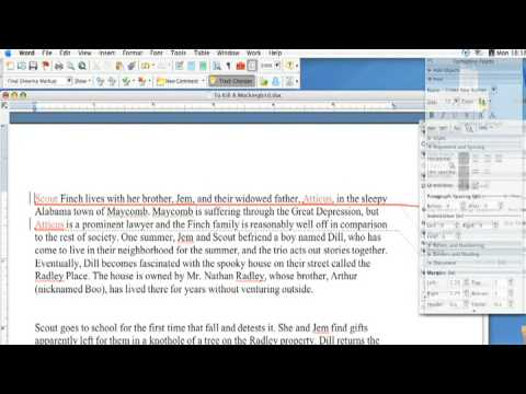 Using Microsoft Word : How to Track Changes Within a Microsoft Word Document