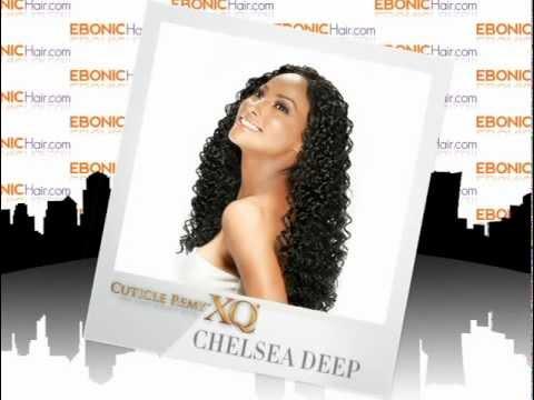 XQ Cuticle Remy Human Hair Weave Chelsea Deep - EbonicHair.com