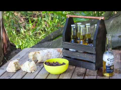 How to make a wooden drinks carrier