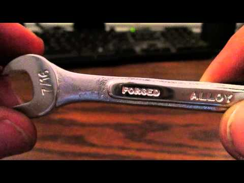 VINTAGE SK SWIVEL HEAD SOCKET WRENCH REVIEW