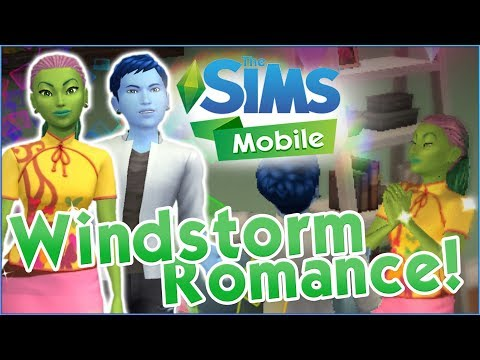 A Windstorm Romance Begins!! 🌼 Sims Mobile 🏡 Episode #5