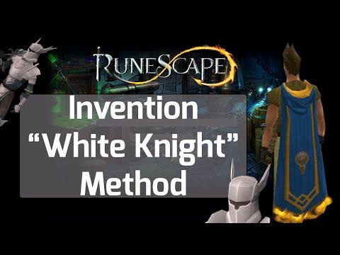 Runescape Invention Guide - White Knight Method