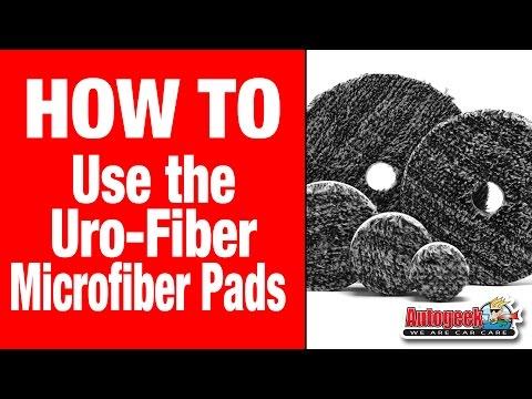 The Buff and Shine Uro-Fiber Microfiber Pads