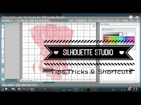 Tips, tricks and shortcuts for Silhouette Studio