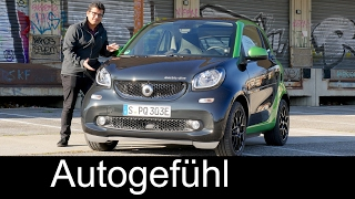 Smart Fortwo Electric Full Review Test Driven All-new Neu Gen 2018/2017 For Two