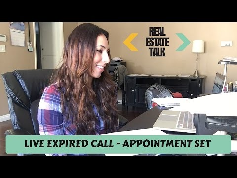 LIVE EXPIRED CALL - APPOINTMENT SET