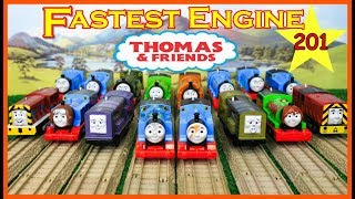BIGGEST RACE! Thomas and Friends THE GREAT RACE #201 TrackMaster Thomas Train|Thomas & Friends