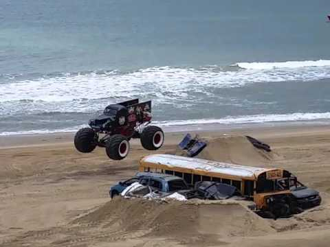 Monster truck freestyle 5/7/16