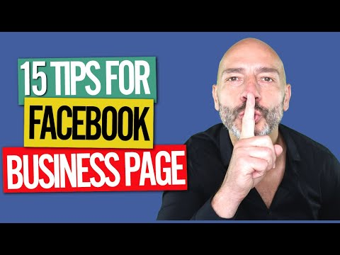 Facebook Business Page - 15 optimization tips (2018)