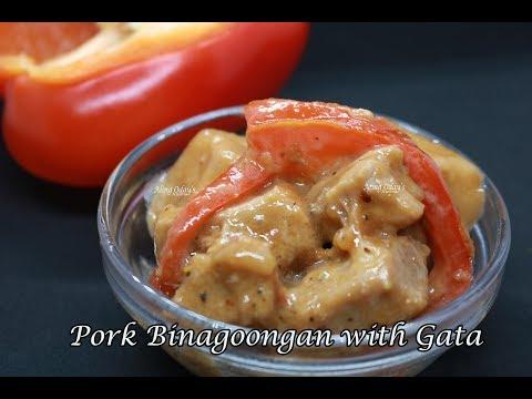 Pork Binagoongan with Gata