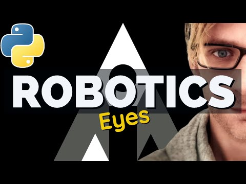 🤖 Lets Build A Robot! Day 2: Eyesight (DIY Tutorial, How to Build a Robot)