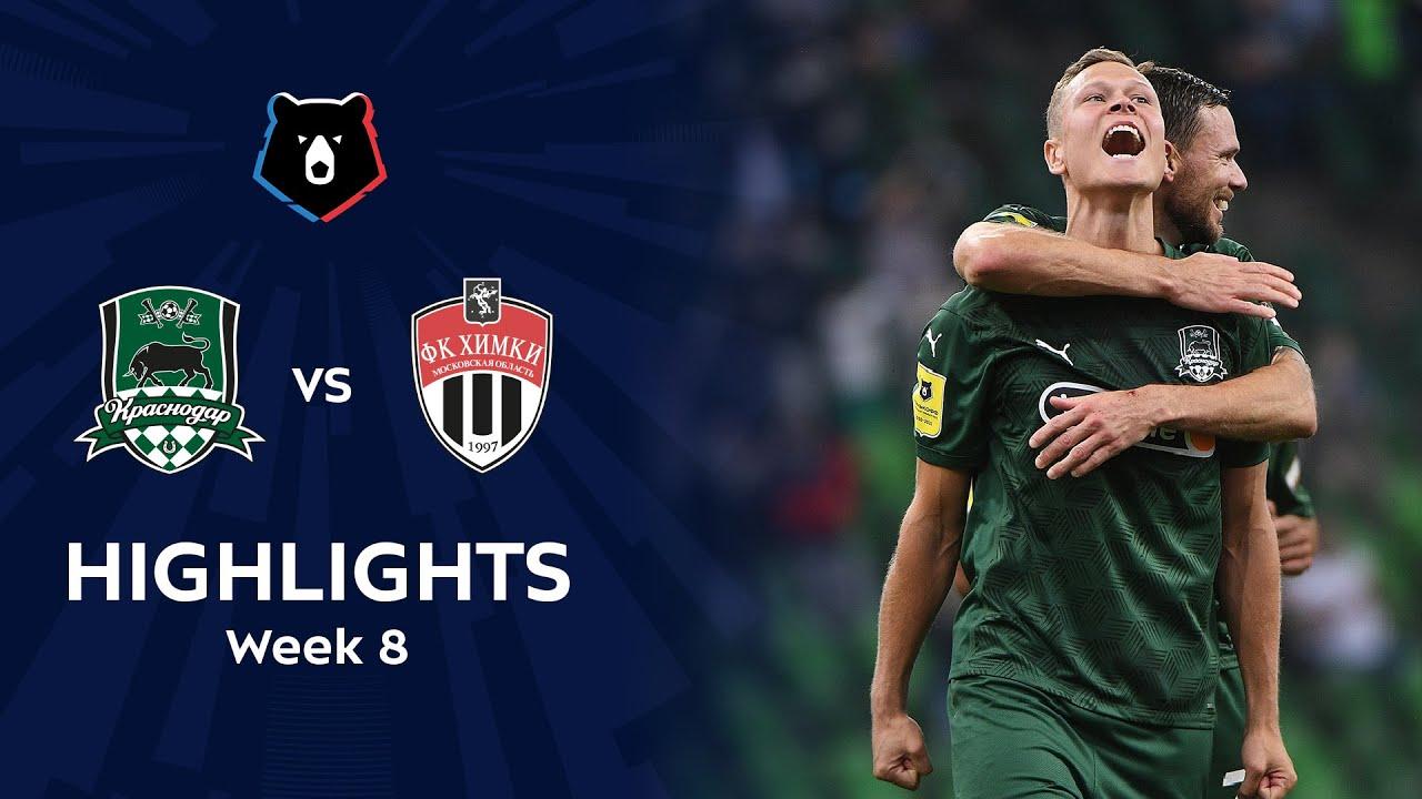 Highlights FC Krasnodar vs FC Khimki (7-2)   RPL 2020/21
