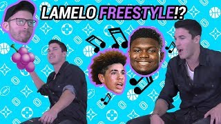 Insane LaMelo Ball, Zion Williamson & Jellyfam FREESTYLE!! Timeflies Drops BARS 🔥