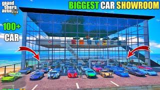 GTA 5 : MICHAEL COLONEL NEW BIGGEST CAR SHOWROOM || BB GAMING
