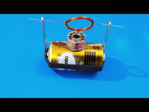 DC Motor without Magnet (Science Project)