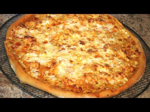Pizza de Pollo con Salsa Búfalo Buffalo Chicken Pizza Sabor en tu Cocina Ep. 177
