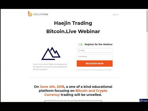 Bitcoin Live Webinar on Haejin Lee, a Featured Analyst