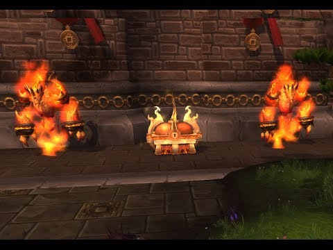 How To Get The Blazing Chest Timeless Isle