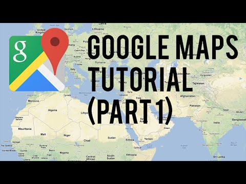 Google Maps Tutorial : Part 1  (Android Tutorials)