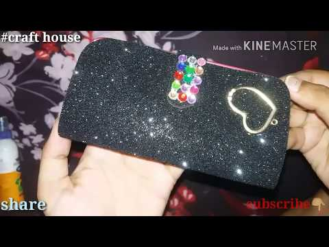 How to make phone case at home | PHONE WALLET | DIY | foam sheet flip cover | Art with creative