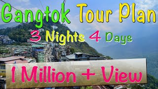 Gangtak Tour Plan | 3 Nights 4 Days Gangtok Tour Package | Best Places to Visit Near Gangtok