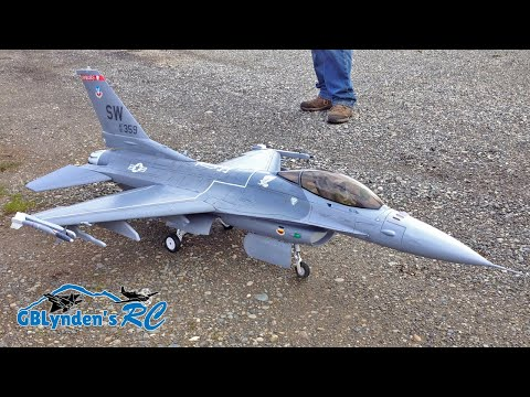 Freewing F-16 Super Scale 90mm EDF Jet Fighter