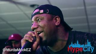 Murda Mook x Oun P Freestyle (Live in Philly)
